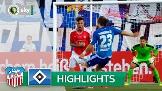 FSV Zwickau - Hamburger SV 0:1   Highlights DFB-Pokal 2016/17 - 1. Runde