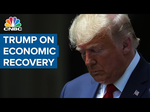 Pres. Donald Trump on economic recovery: Warren Buffett should have kept airline stocks