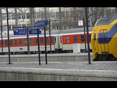 Treinen in Amsterdam Centraal - 14 februari 2014
