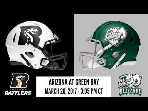 Week 6 | Arizona Rattlers at Green Bay Blizzard