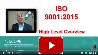 ISO 9001:2015 High Level Overview