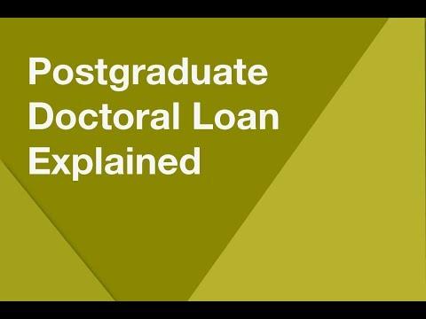 Postgraduate Doctoral Loan explained 2018/19