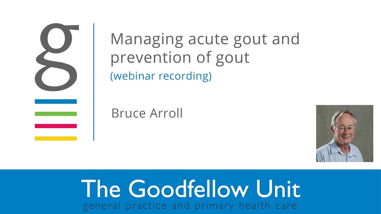 Gout | Health Navigator NZ
