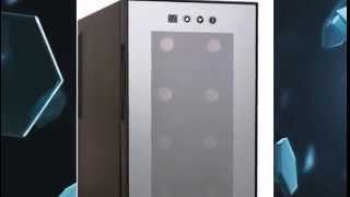 Haier Hvtm08abs | Haier Hvtm08abs 8-bottle Wine Cellar With Electronic Controls