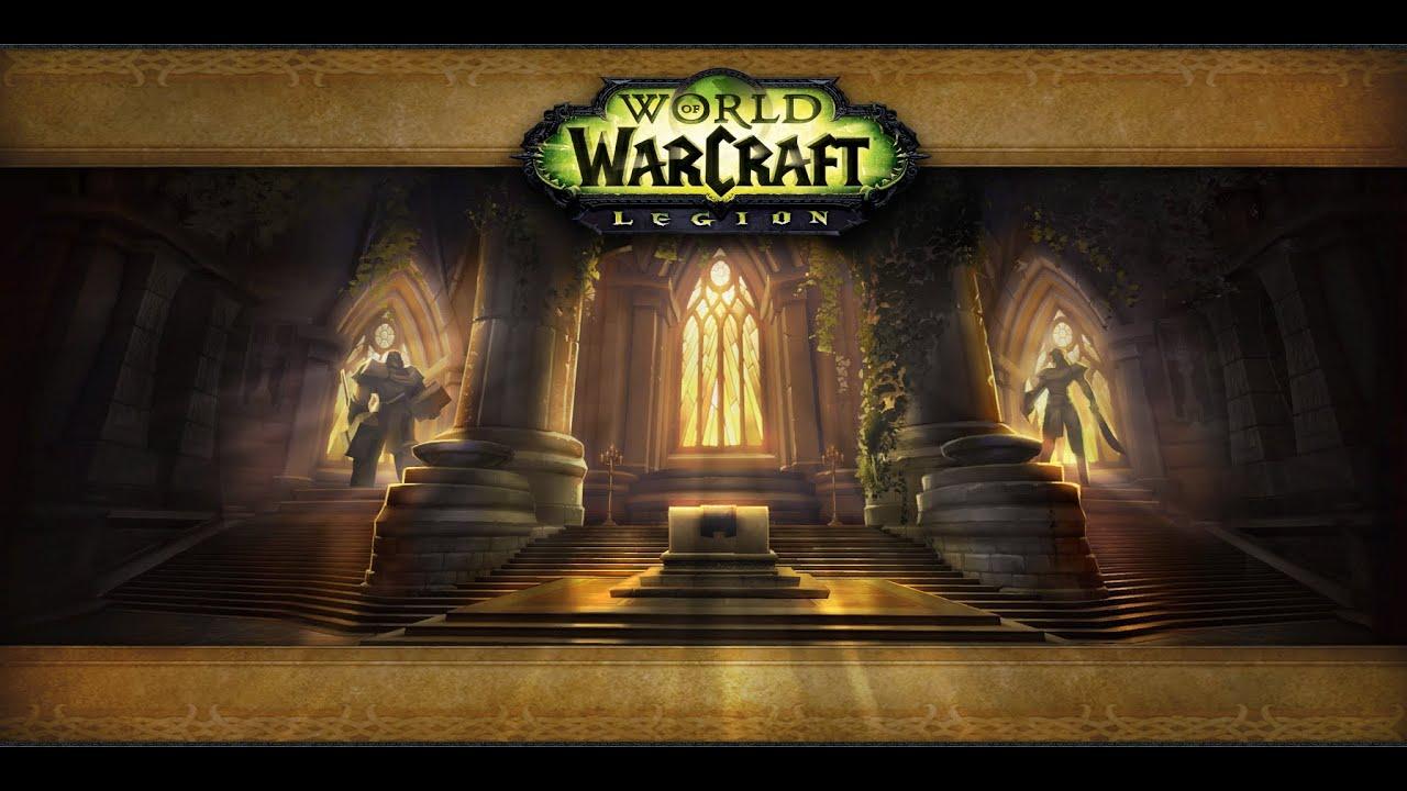 World Warcraft Burning Crusade Login Screen