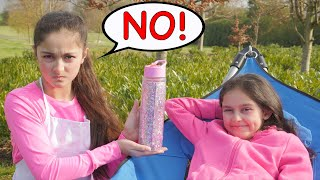 SIS CAN'T SAY NO FOR 24 HOUR CHALLENGE!! Dart Map PRANK!!