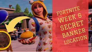 Fortnite Week 6 Secret Banner Location Guide (Season 7 Snowfall Challenge)