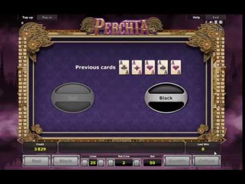 Мобильный игровой автомат на деньги Perchta от Novomatic