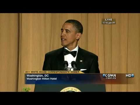 C-SPAN: President Obama at the 2011 White House Correspondents' Dinner
