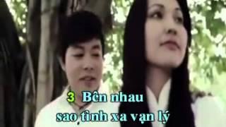 Về Đâu Mái Tóc Người Thương (karaoke) - Quang Lê