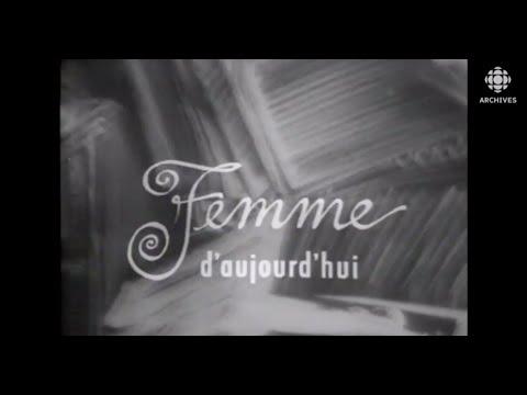 Montage d'archives : L'émission «Femme d'aujourd'hui» de 1965 à 1982