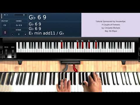 A Couple of Forevers (by Chrisette Michele) - Piano Tutorial