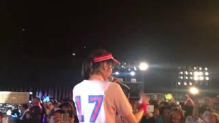 2016年4月3日 AKB48 チーム8 沖縄ツアー 北玲名(れなな) 昼のイベントで...
