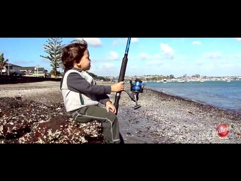 Completely by Ana Laura - Kaedyn Fishing at Bucklands Beach