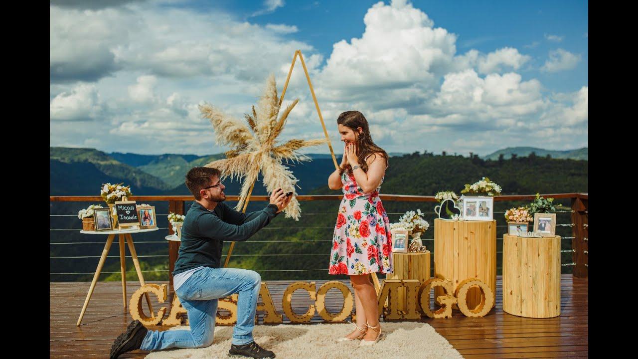Pedido de Casamento na Serra Gaúcha - Micael e Isabele