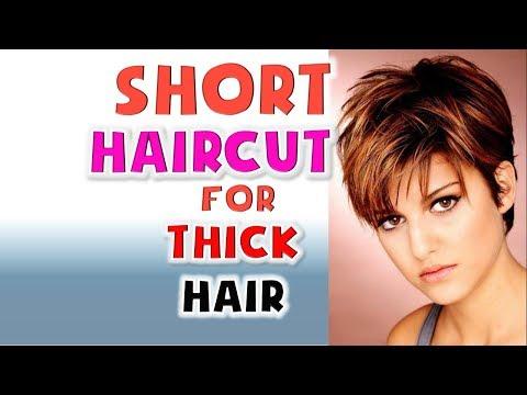 short-haircut-for-thick-hair-women-hairstyles-ideas-2018