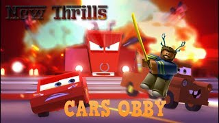 Roblox-[CARS 3] SAVE LIGHTNING MCQUEEN!! Aventure Obby- COMMENT À BEAT IT