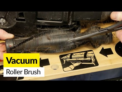 How to Clean the Roller Brush on a Vacuum Cleaner