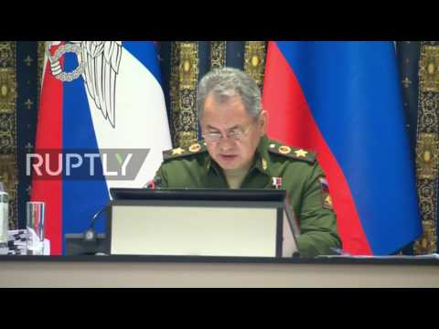 Russia: Shoigu voices concerns over NATO's presence near border