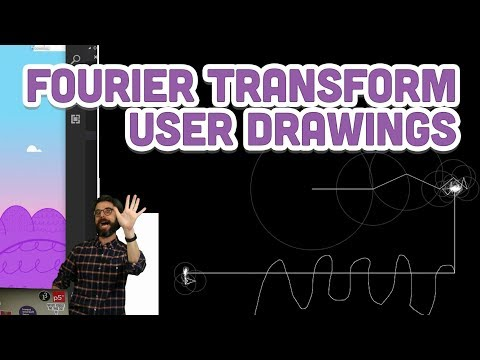 Coding Challenge #130.2: Bonus Drawing with Fourier Transform