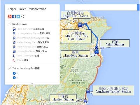 Transportation Between Taipei And Hualien (Taroko) | Travel