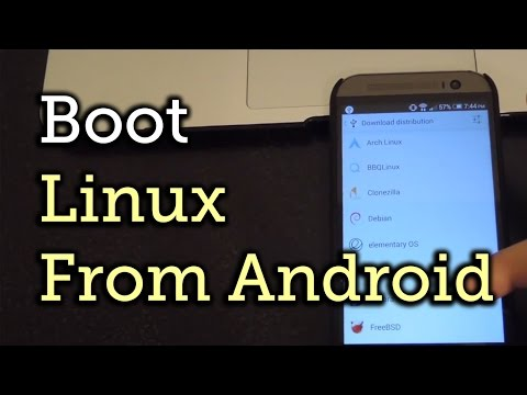 Turn Your Android into a Portable Linux System That You Can Boot Up