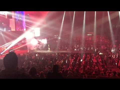 KB Intro at Winter Jam 2018 in Fort Worth Texas