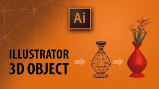 Illustrator Dersleri: 3D Efekt ile Vazo çizimi