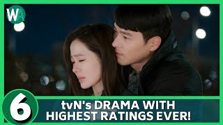 6 tvN's Drama With Highest Ratings Ever!