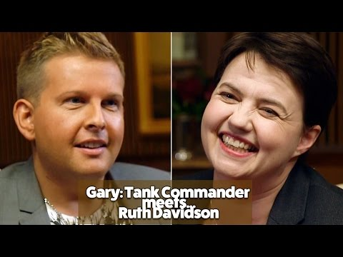Gary: Tank Commander meets Ruth Davidson