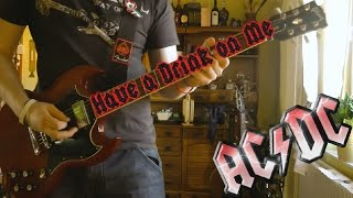 AC/DC - Have a Drink on Me (Guitar Cover) HD