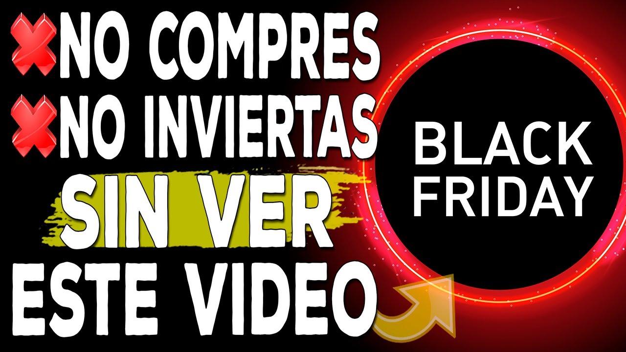 ⚠️No compres y no inviertas en el BLACK FRIDAY sin ver este vídeo | 3 consejos clave