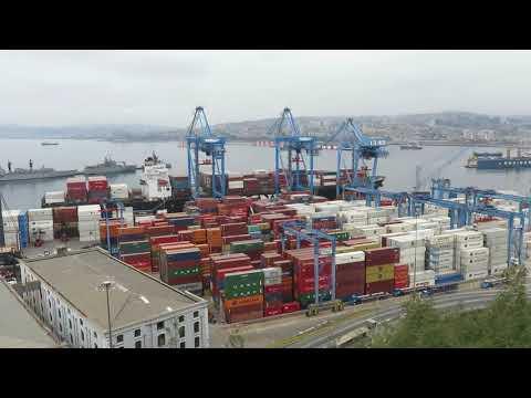 Port of Valparaíso, Chile