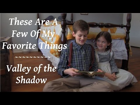 These Are a Few of My Favorite Things ~ Valley of the Shadow