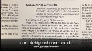 Porte de Arma AUTORIZADO 19/06/2017 Diário Oficial