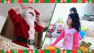クリスマスの朝サンタさんのサプライズドッキリにまーちゃん本気でびっくり!! Christmas Surprise Santa himawari-CH thumbnail