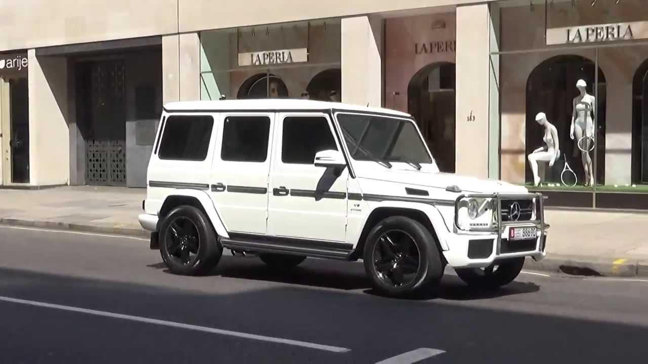 White G Wagon London Sloane Street Youtube