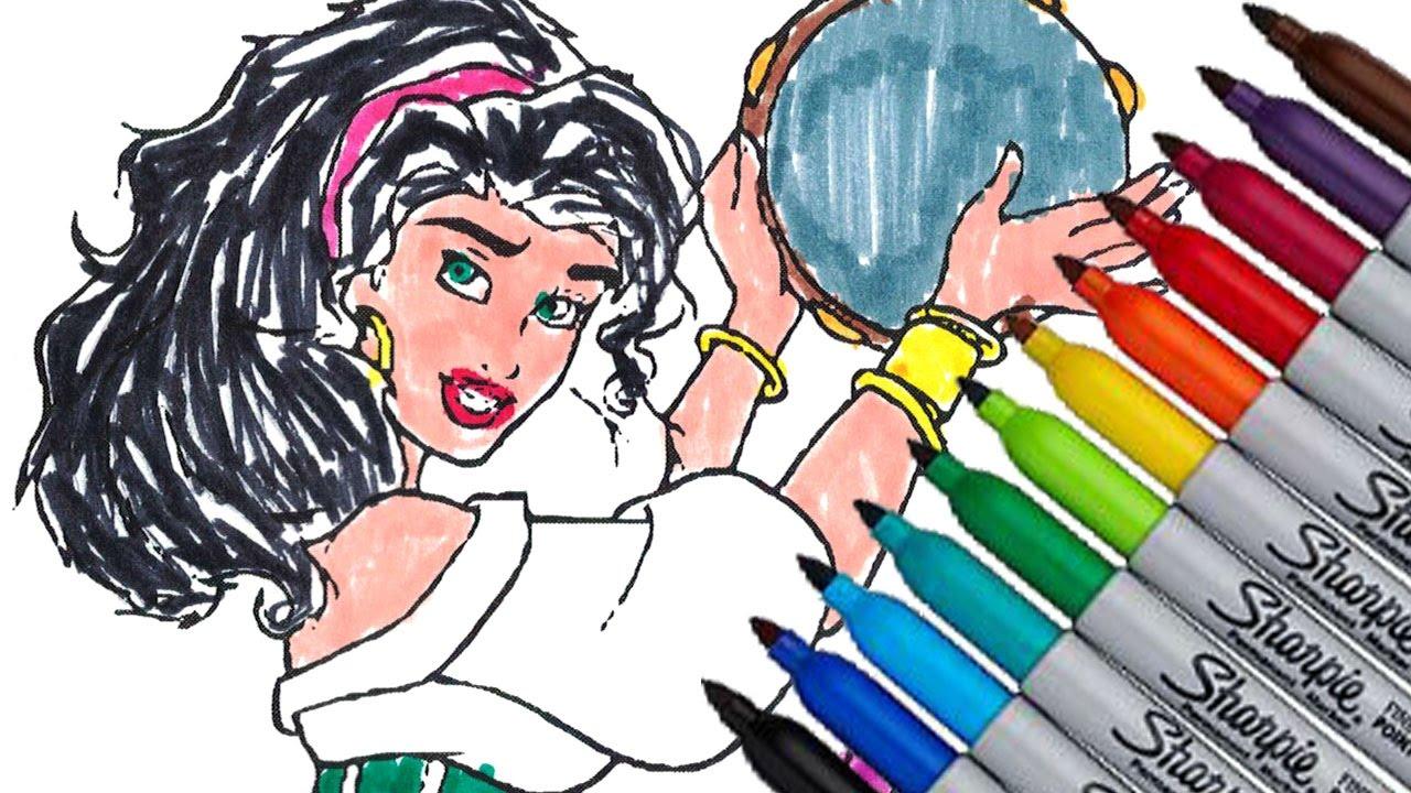 Esmeralda Disney Princess Cartoon
