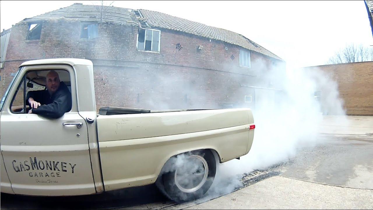 Big Chris Smith Accepts Gas Monkey Garage S Burnout Nomination Youtube