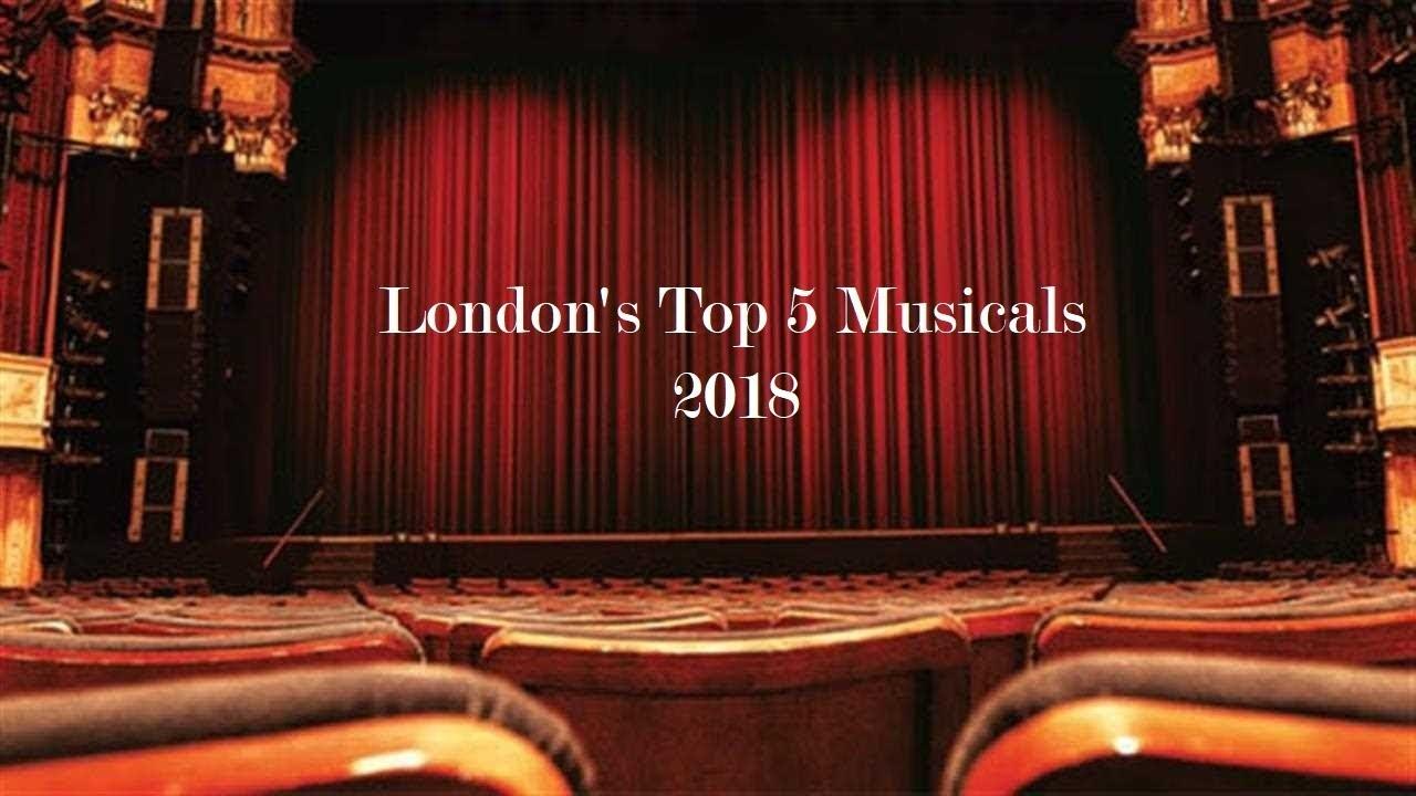 Top 5 musicals in london