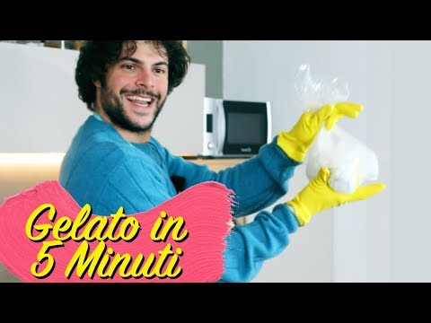 Fare il gelato in 5 minuti   CUCINA BUTTATA - Guglielmo Scilla
