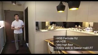 445B Fernvale, 4-Room ​Singapore HDB Property Sold by PropertyLimBrothers