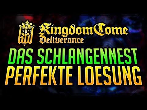 Kingdom Come Deliverance Banditenlager Karte.Feuertaufe Schlangennest Walkthrough Kingdom Come Deliverance Banditenlager Essen Vergiften