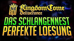 FEUERTAUFE / SCHLANGENNEST - Walkthrough Kingdom Come: Deliverance Banditenlager Essen vergiften