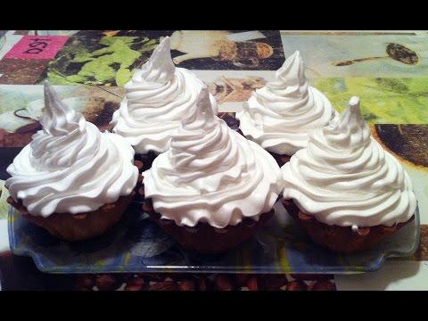 Корзиночки с Белковым Заварным Кремом(Пирожное)/Пошаговый Рецепт(Очень Вкусно)
