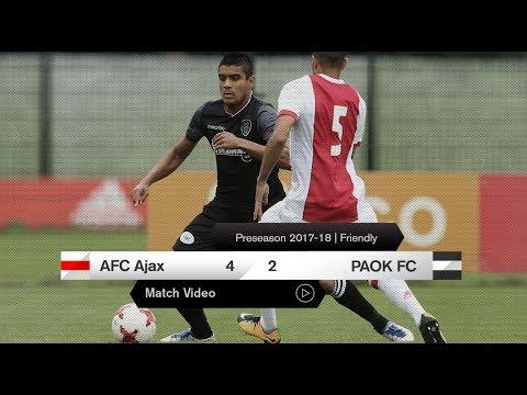 AFC Ajax-ΠΑΟΚ 4-2 [video] - PAOK TV
