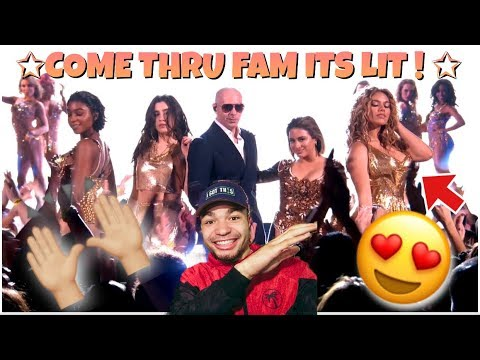 "FIFTH HARMONY x PITBULL (Oh Its LITTY FAM!🔥) ""Por Favor"" DWTS REACTION !!"