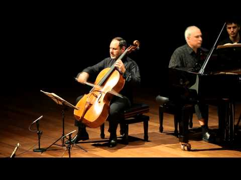 Beethoven Cello Sonata Op. 69 Gary Hoffman and Ilan Rechtman 3rd-4th mov.