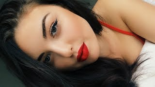 Valentines Day Makeup | Red Lips Tutorial
