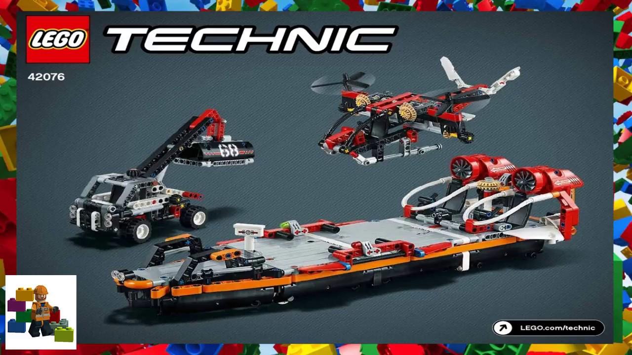 Lego Instructions Technic 42076 Jet Boat Model 2 Youtube